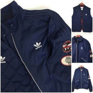 Adidas Men's Mile High Flight Bomber Jacket XL